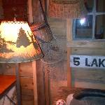 Cool rustic camp theme