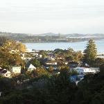 View of Paihi and the bay from our deck.