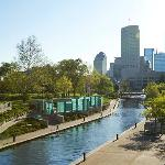 The Central Canal in downtown Indy is a highlight seen on many of our tours!