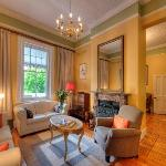 One of our lounges at Parker Cottage
