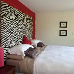 Zebra Bed room