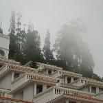  Hotel Covered in Mist