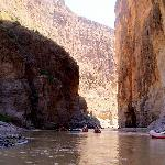 Floating into Santa Elena Canyon