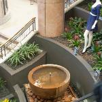  Water feature inside the Centre