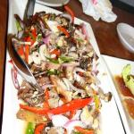 pork ?sisig not too sure