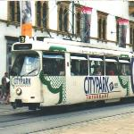  Hauptplatz: tram