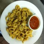 Fried calamari.
