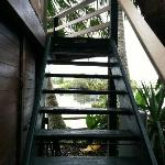 stairs to Gazebo