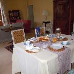  salone per colazione al Chambertines