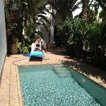  Pool---beside our terrace!