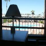  view from dining table,apache blvd and camelback in view.