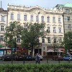  Appartment building as seen from Wenceslas Square