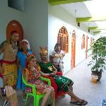 inka wedding at Inti Wasi hostel