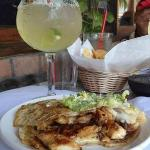Margaritas and quesadillas!!!  Mucho delicioso!!!
