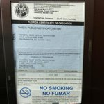 Elevator Inspection,  Out of Date, today date 5-4-12
