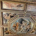 Ceiling  depicting Virtue's Triumph