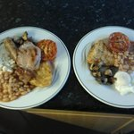 We provide the traditional English breakfasts, as well as lighter healthier options. We also cat