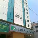 Hotel Planet Mount, Chennai front view