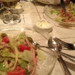 1905 salad small one split between 2 people