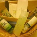 Toiletries in room!