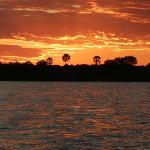 Incredible sunsets on the Zambezi