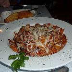Rigatoni with meat balls