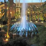 Dancing Water Inside the Gaylord Hotel