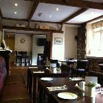 Interior Dining Room of the Red Lion at Pendoylan