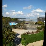  A lovely view out over the Golfe du Morbihan.