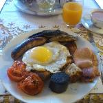 Desayuno Full English Breakfast