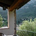 Apartment veranda and views at Villaverde