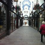  Thornton&#39;s Arcade - looking towards Briggate