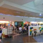 Food court in Robinsons Place Mall