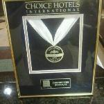  2011 &amp; 2012 Choice Gold Award
