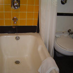 More bathroom - could use some new sealer at end of bath