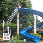  Me on the big slide.. it was so much fun.