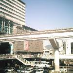 hotel and monorail