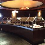 Buffet-breakfast, lunch and complimentary soup and salad bar at dinner time