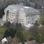Goetheanum seen from the Schloss on the hill