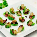 Bacon even makes Brussels sprouts good