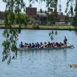 Waddaya know, a dragonboat shows up!