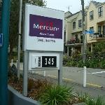 Front of Mercure