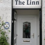 The front door of The Linn B&B