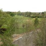 View of the golf course from the Humber Royal Hotel.
