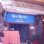 Entrance to the Sky Hotel