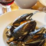 Mussels at Lindenderry Restaurant