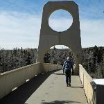 Edworthy Park pedestrian bridge - Apr 2012