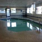 Small indoor pool provides fun for little ones, but not for my teenagers.