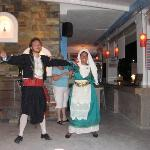 Greek Dancing at Viva Mare restaurant/Kosmoplaz Hotel
