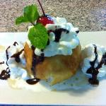 Fried Vanilla Ice Cream